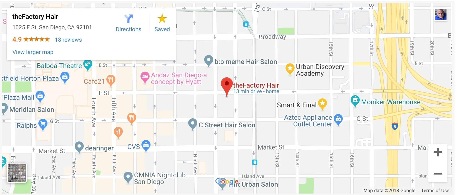 thefactoryHair Map